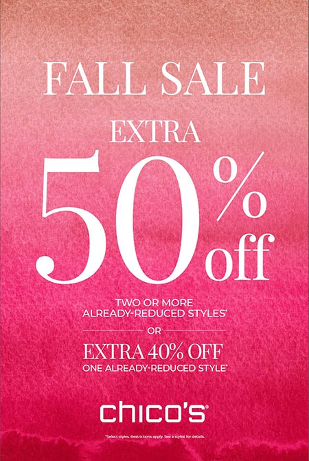 Chico's Fall Sale